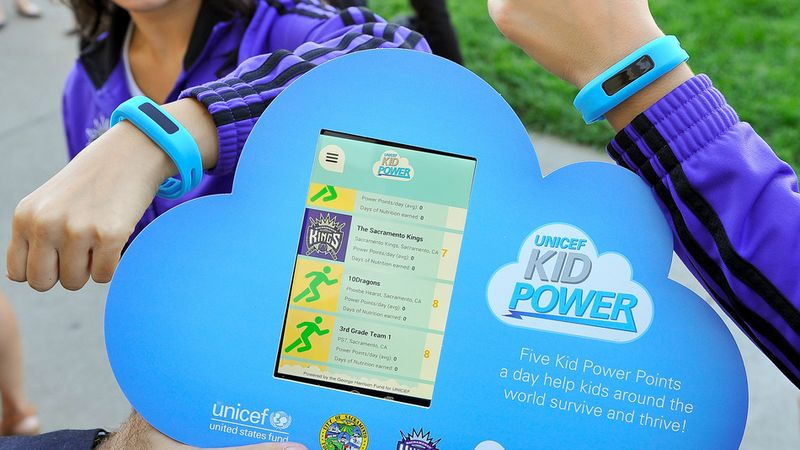 Unicef kid power fitness program