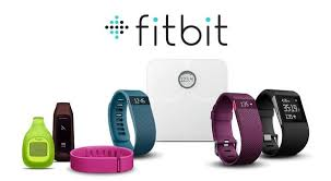 Fitbit products with logo