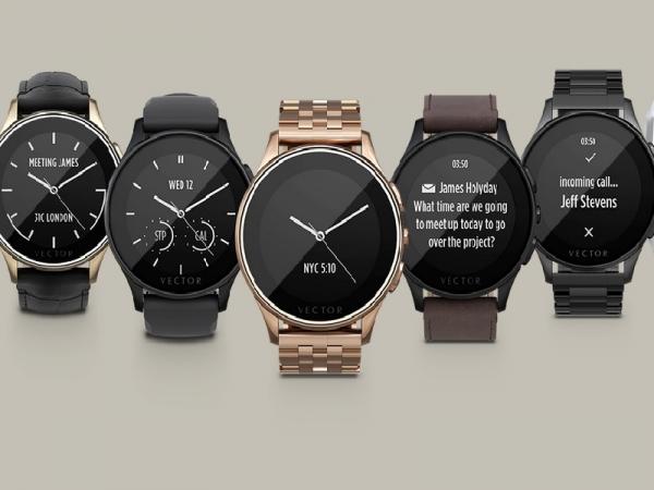 Vector watches