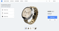 Motorola smartwatch customize