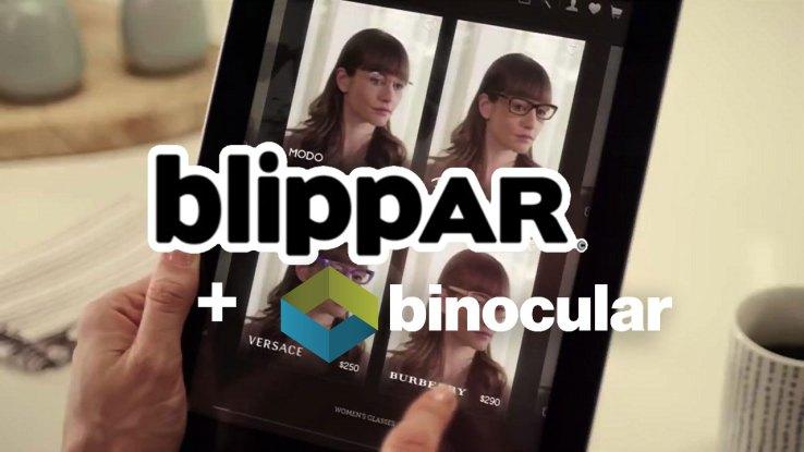 Blippar-binocular