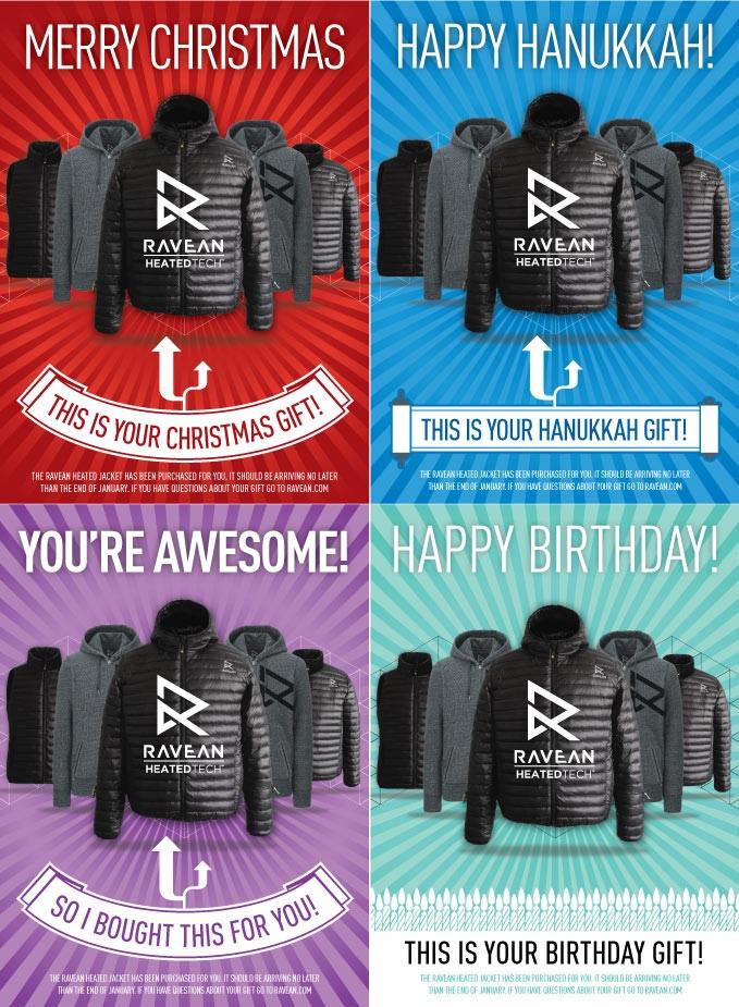 Ravean smart jackets