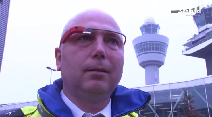 Google glass airport europe