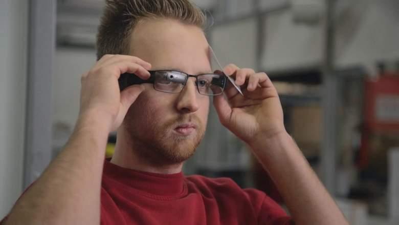 Ar smart glass